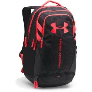 [1294720-003] New Men's UA Under Armour Hustle 3.0 Backpack - Black Pink