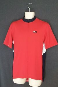 Polo Sport Ralph Lauren RLX Cycle Gear Cross Shirt Half Zip Red  Black XXL