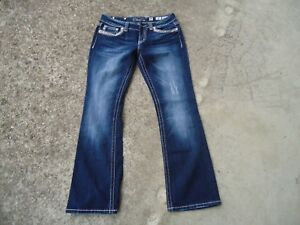 WOMENS (W32L32) MISS ME- BOOT CUT- DESIGNER JEANS PREOWNED