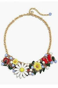 TALBOT'S GARDEN STATEMENT NECKLACE-NEW WITH TAG-SRP $89.50