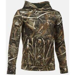 Under Armour 1286119 Boys' Icon Camo Hoodie