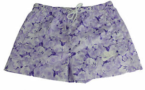 Nike All Over Print Shorts Sports Fitness Gr XS 840655 540 Purple