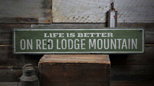 Mountain Decor Mountain Lover Gift Distressed Wooden Sign ENS1001986
