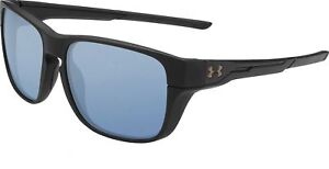 NEW Under Armour Pulse 8650110-010134 Satin Black  Recovery Sunglasses