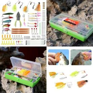 Fishing Lures Tackle Baits For Saltwater Freshwater Crankbaits Spinnerbaits Set