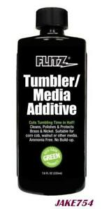Flitz TumblerMedia Additive BrassNickel Metal CleanerPolish 7.6 Oz. # TA04885