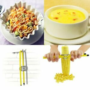 Household Stainless Steel Kitchen Cutter Remover Corn Peeler Stripper Thresher