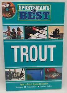 Sportsman#x27;s Best Trout Fishing Book and DVD Combo Catch Seatrout Pro Tips