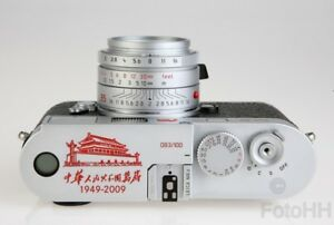 VERY RARE LEICA M8.2 SILVER LIMITED EDITION