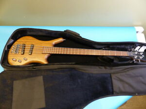 WARWICK GPS GERMAN PRO THUMB BO 4 ELECTRIC BASS NATURAL W CASE