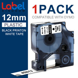 Compatible for DYMO D1 45013 12mm Label Tape LabelManager 120P 100 Office Ribbon