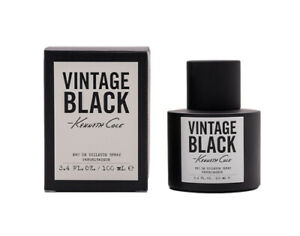 Black Vintage by Kenneth Cole 3.4 oz EDT Cologne for Men New In Box $27.60