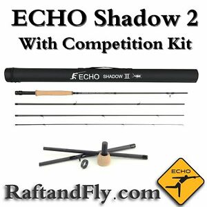 Echo Shadow II 4wt with Competition Kit 10'6