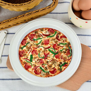 Plastic Pizza Sacuing Ring Molds Nonstick for Kitchen DIY Pizza Pans 8 Inch