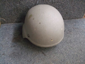 SDS MEDIUM ACH  HELMET WITH PADS AND CHIN STRAP