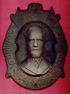 U.C.V. GEN .ROBERT E. LEE-CAST IRON WALL PLAQUE-9