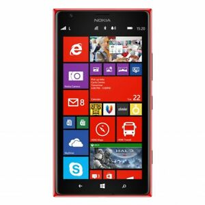 Nokia Lumia 1520 - 16GB Red (AT&T  Unlocked) * MINT *CLEAN IMEI *FAST FREE SHIP