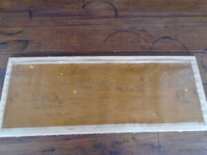 Antique 1800`s Jean Baptiste Camille Corot Drawing (Painting) Pair 18 x 33 inch