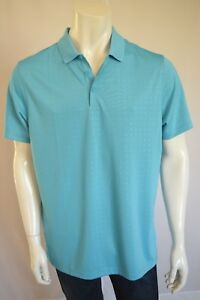 NIKE  STANDARD Fit Dry Fit  SHIRT POLO Men's SZ LARGE in 418 BLUE
