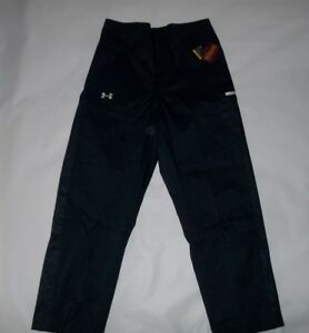 UNDER ARMOUR UA Storm Team COLDGEAR Navy Outdoor Sports PANTS Mens LARGE NEW