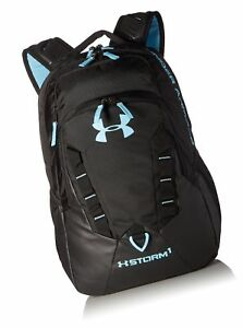 Under Armour Storm Recruit Backpack Black (007)Blue Infinity One Size