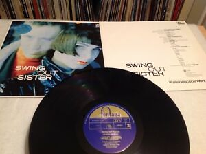 Swing Out Sister Kaleidoscope World LP Album with inner  838293 Pop 80s  S2