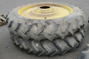 SET OF 2 GOODYEAR TIRES & WHEELS 38090-R54 TUBELESS SUPER TRACTION  A