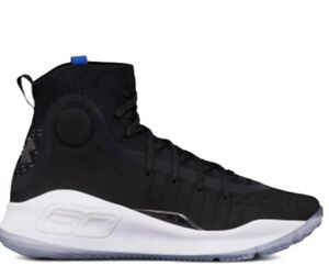 Lk NEW black under armour curry 4 basketball shoes youth size 6.5