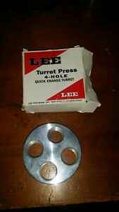 Lee 4-Hole Clasisic 4-Hole Turret Press Turret - Mint Condition