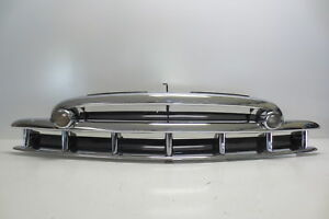 1949 49 Chevy Chevrolet Car Grille Original Triple Plated Chrome SHOW CO