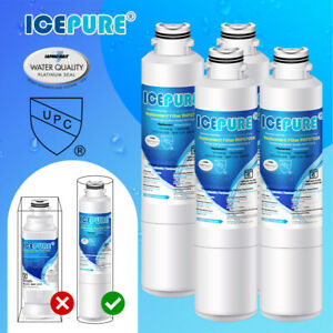 4 PACK Icepure Samsung DA29-00020B HAF-CIN/EXP Compatible Water Filter