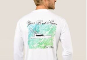 Custom Fishing Shirt - Customize this design with your boat or team name!