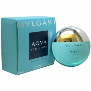 Bvlgari Aqva Marine Pour Homme by Bvlgari 3.4 oz EDT Cologne for Men New In Box $42.22