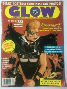 GLOW magazine Issue # 3 Beastie sexy female wrestling no posters included