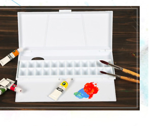 Artist Palette Painting Plastic Professional Hand Held Water Colour Artist