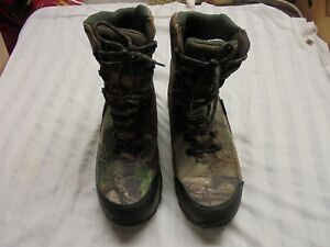 ROCKY Retraction Waterproof Insulated Hunting Boots for Men SZ 13 M