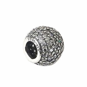 NEW Authentic Pandora 925 Sterling Silver Charm Pave Lights clear cz 791051CZ