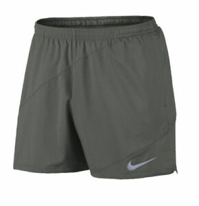 Nike Flex Dri-Fit 5 Men's Running Shorts Size S Grey