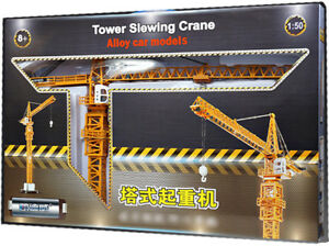 KDW 150 Construction Vehicle Diecast Tower Slewing Crane Car Model New
