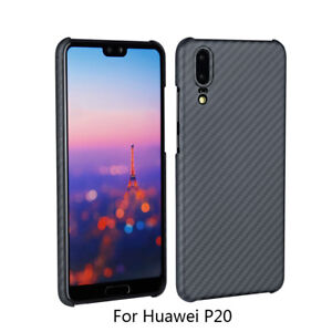Ultra Slim Matte Shockproof For Huawei P20 P20 Pro Case Cover Aramid Fiber Case