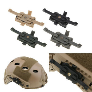 Perfeclan Tactical Helmet Mount Adapter onto FAST Rail HD Camera Bracket
