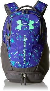 Under Armour Hustle 3.0 Backpack Green Typhoon One Size - 1294720-375