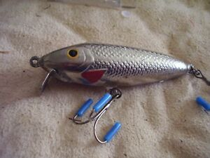 VINTAGE MAGIC MINNOW BAIT CO. MAGIC MINNOW MADE IN 1939 IN MAINE