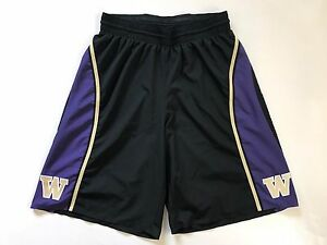 Washington Huskies Nike Dri-FIT Men's Team Issued Black Basketball Shorts