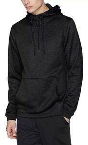 NWT$65 MEN'S UNDER ARMOUR STORM FLEECE 14 ZIP HOODIE 1313504  BLACK  S-4XLT