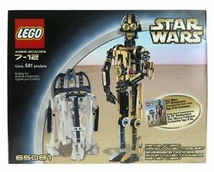 Lego Star Wars 65081 R2D2 C3PO Droid Collector New Sealed