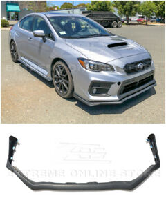 EOS JDM V-LIMITED Style Front Bumper Lip Splitter For 18-Up Subaru WRX