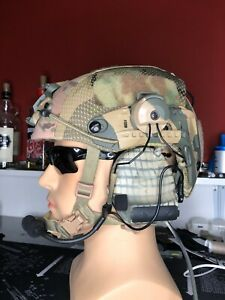 crye precision AirFrame style AIRSOFT Helmet ops core helmet + Z Tac Comtac 2`s