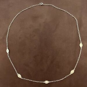 Platinum Diamond Choker Necklace