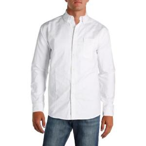 Under Armour Mens White Heat Gear Loose Fit Button-Down Shirt Top 2XL BHFO 5980
